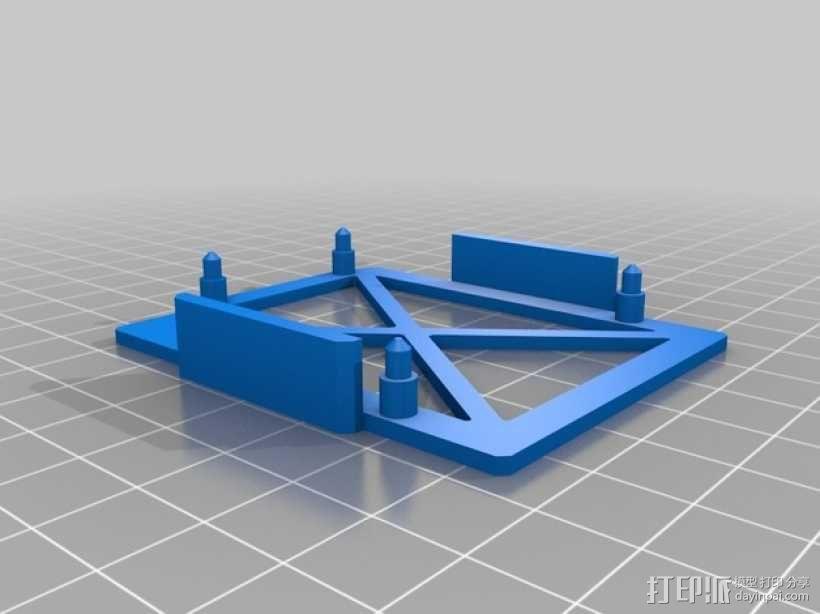 Arduino电路板 底座 3D模型  图4