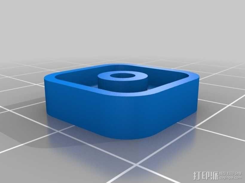 Arduino电路板 底座 3D模型  图5