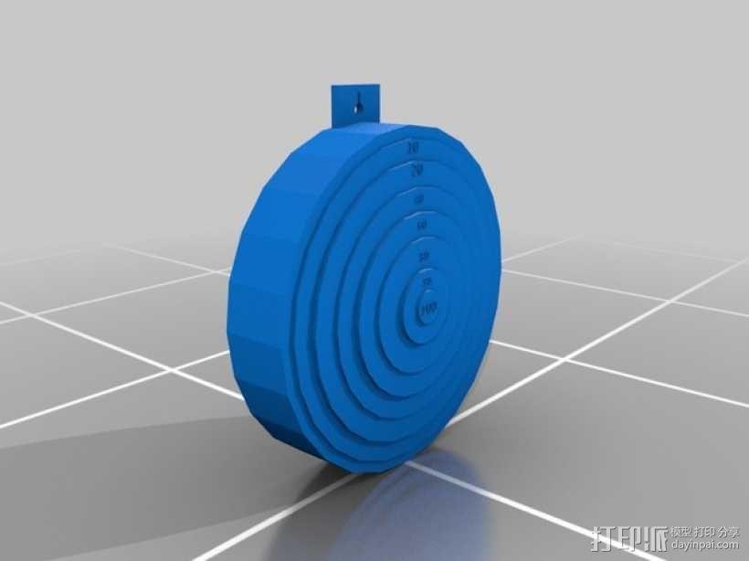 靶子 3D模型  图1