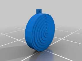靶子 3D模型