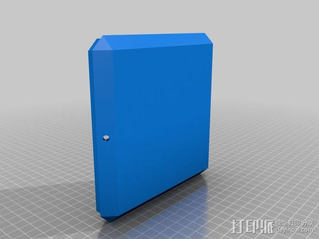 RGB LED发光立方体 外壳 3D模型  图2