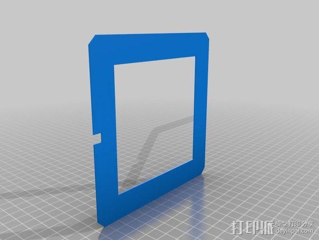 RGB LED发光立方体 外壳 3D模型  图4
