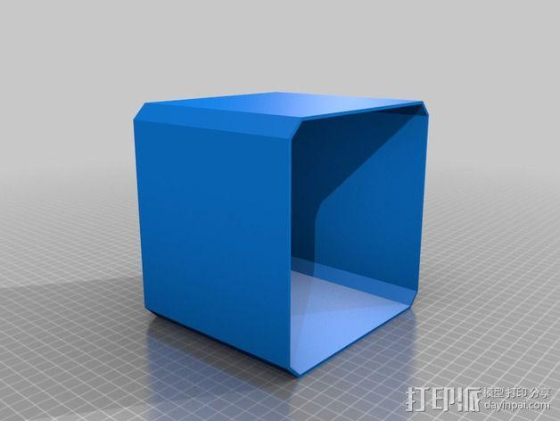RGB LED发光立方体 外壳 3D模型  图5