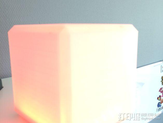 RGB LED发光立方体 外壳 3D模型  图9