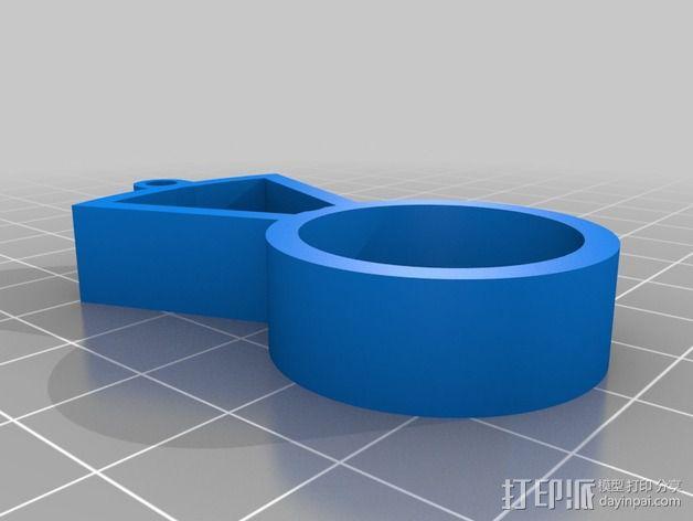 位置传感器零部件 3D模型  图3