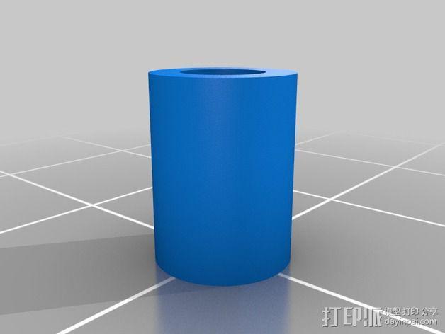 位置传感器零部件 3D模型  图2