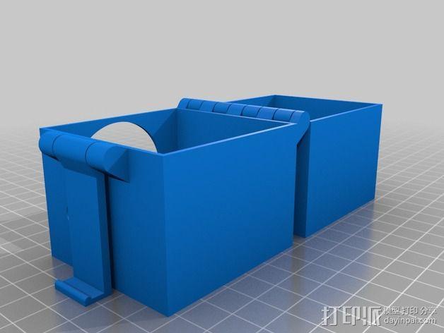 音乐盒 3D模型  图3