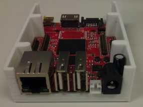 Olinuxino Lime电路板外壳 3D模型