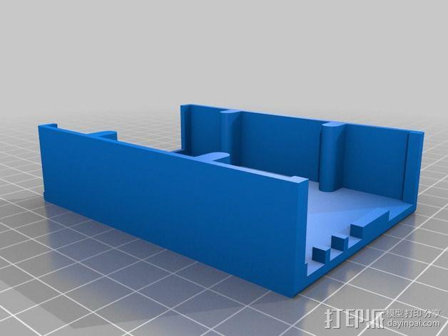 Olinuxino Lime电路板外壳 3D模型  图2