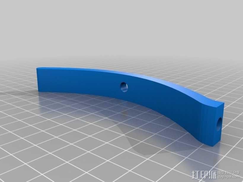 射箭冠军 奖杯 3D模型  图3