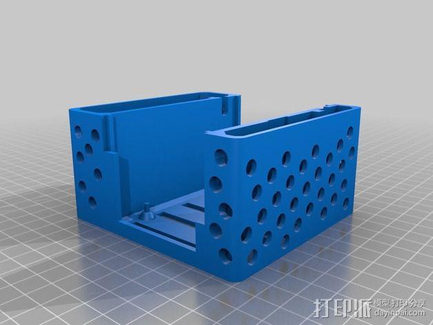Arduino电路板外壳 3D模型  图3