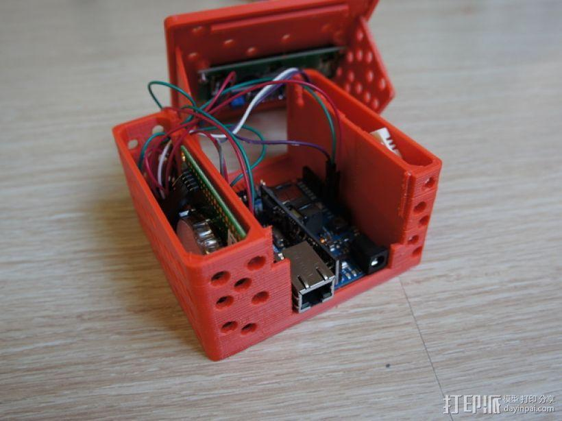 Arduino电路板外壳 3D模型  图7