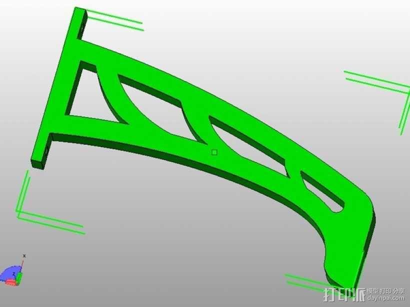 起落架 3D模型  图1