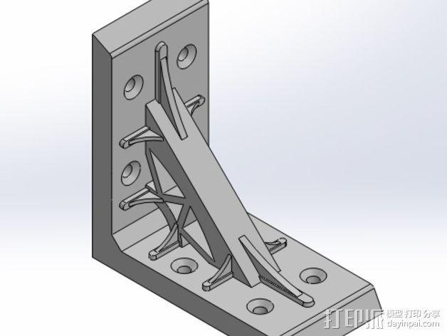 直角夹 3D模型  图1