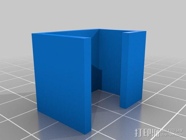 Quickbot机器人 开关支座  3D模型  图2