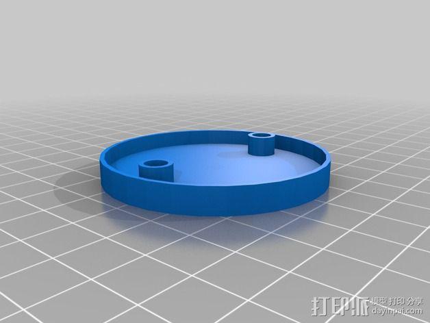 MTK 3329 GPS模块 底座 3D模型  图2