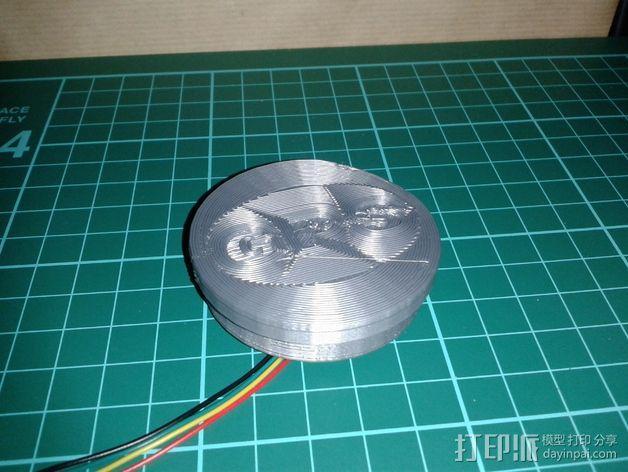 MTK 3329 GPS模块 底座 3D模型  图5