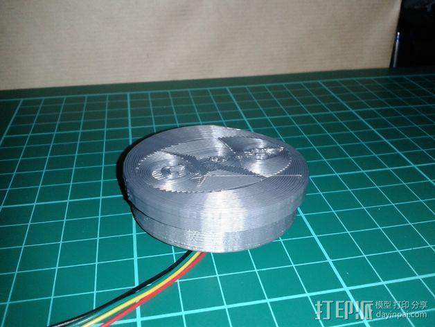 MTK 3329 GPS模块 底座 3D模型  图6