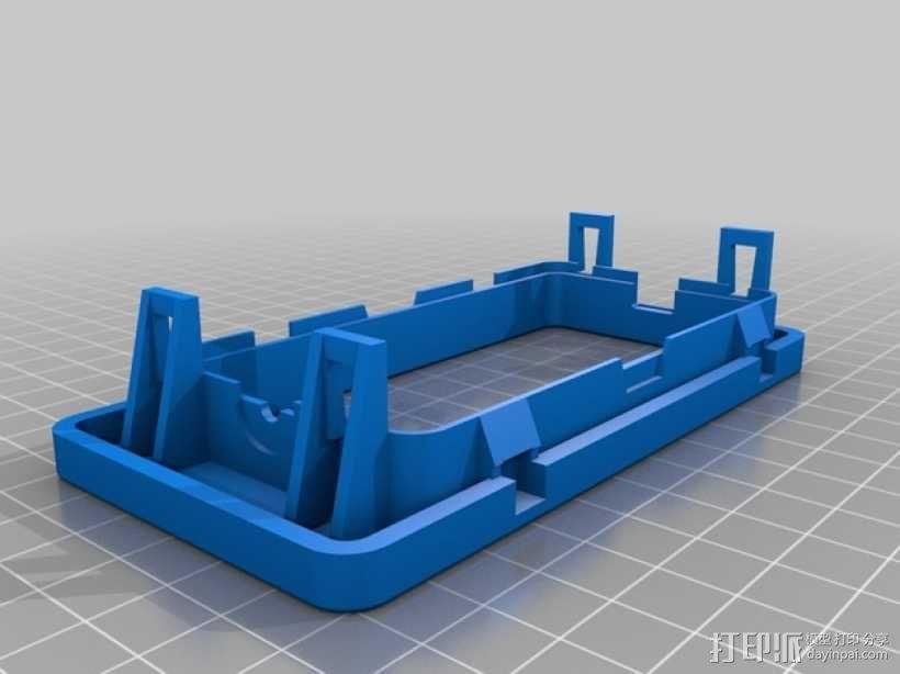 日产汽车 空调通风口塑料罩 3D模型  图2