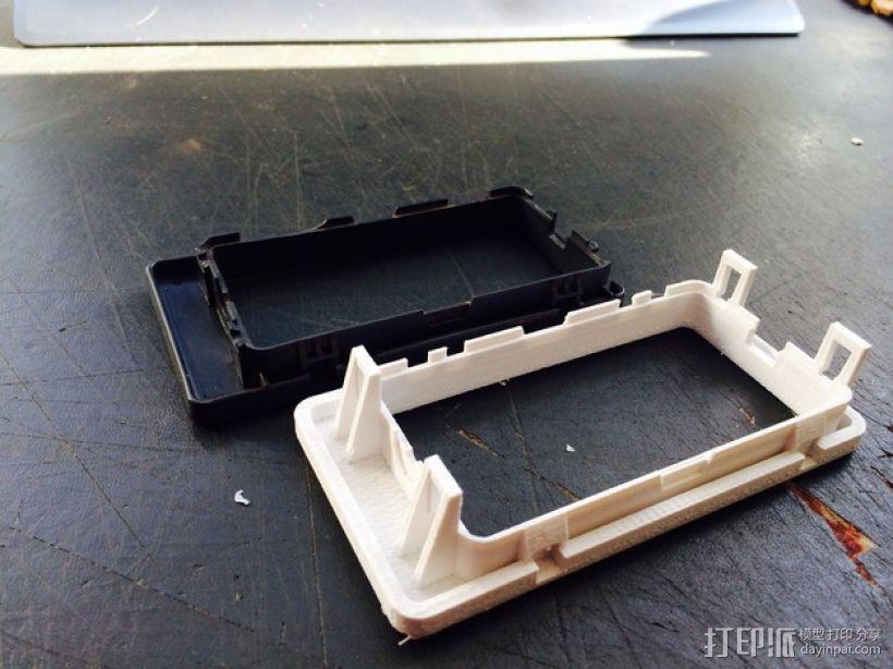 日产汽车 空调通风口塑料罩 3D模型  图3