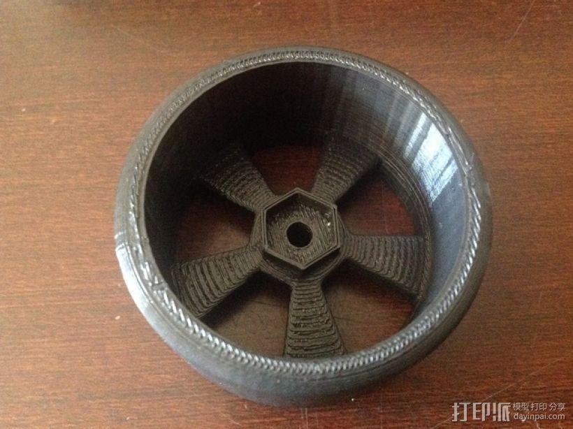 漂移专用轮胎 3D模型  图5