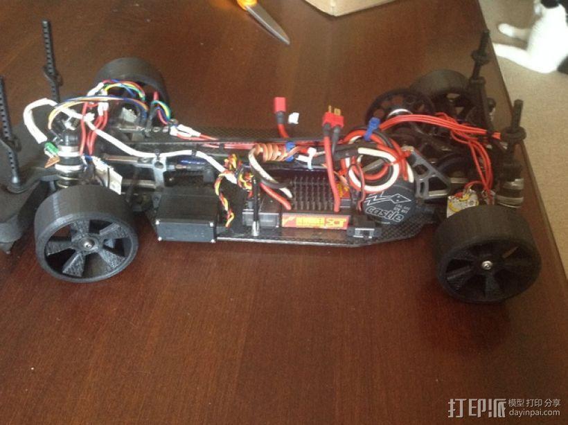 漂移专用轮胎 3D模型  图6
