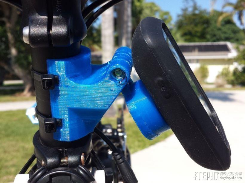 Garmin Edge GPS手持机 自行车固定夹 3D模型  图1