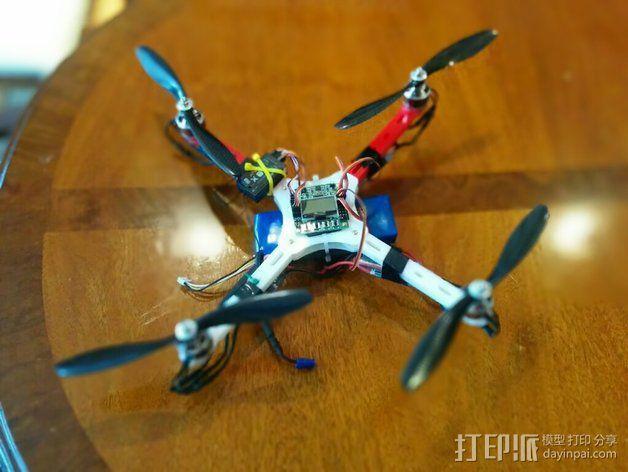 四轴飞行器框架 3D模型  图3