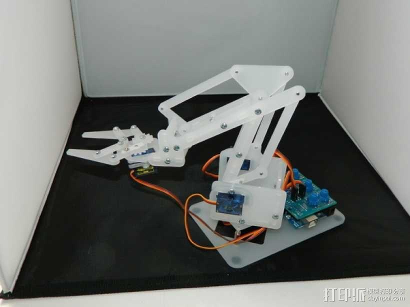 机械臂V2 3D模型  图1