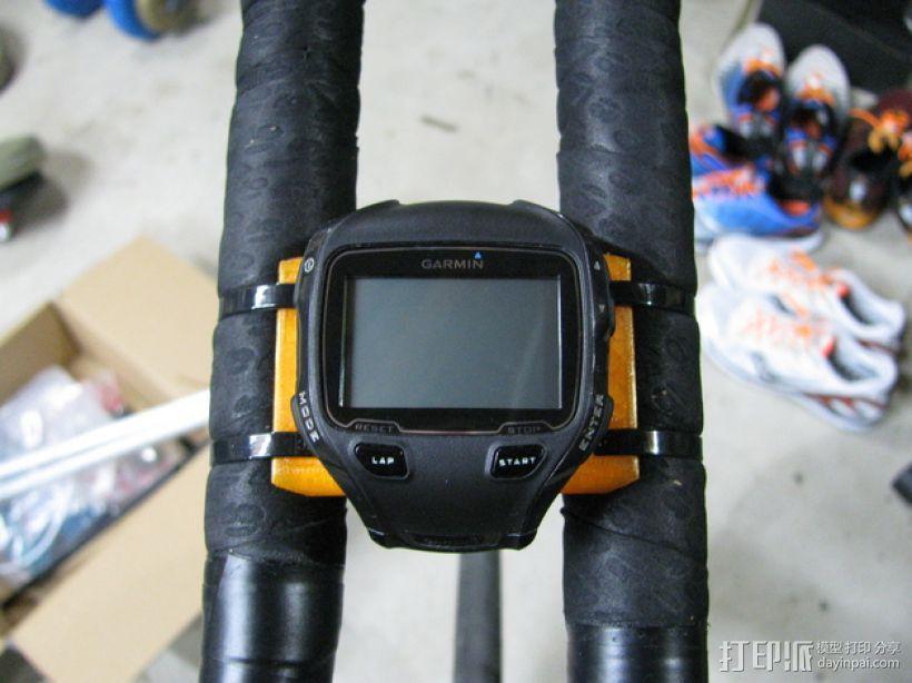 Garmin Edge自行车码表安装支架 3D模型  图10