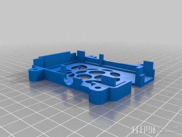 树莓派外壳 3D模型  图3