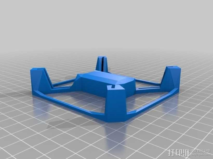 Hubsan X4多轴飞行器 相机支架 3D模型  图2