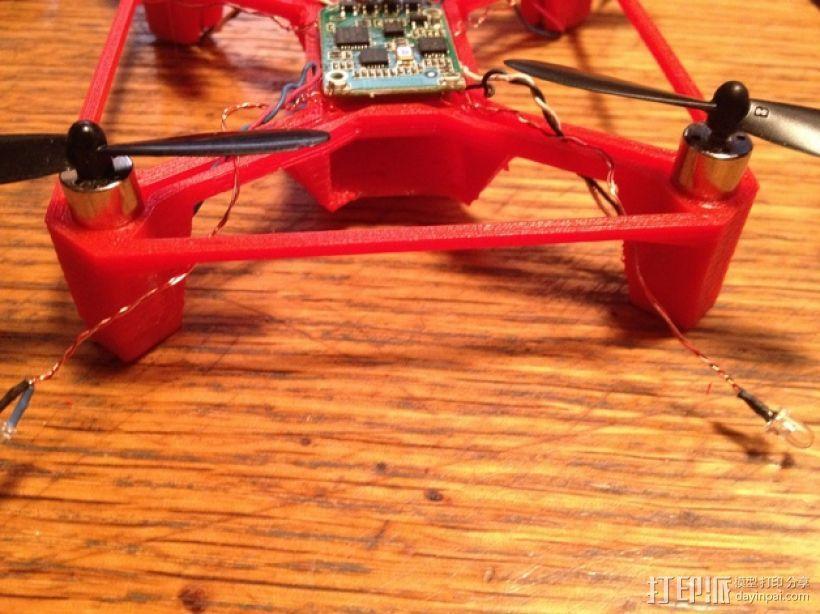 Hubsan X4多轴飞行器 相机支架 3D模型  图7