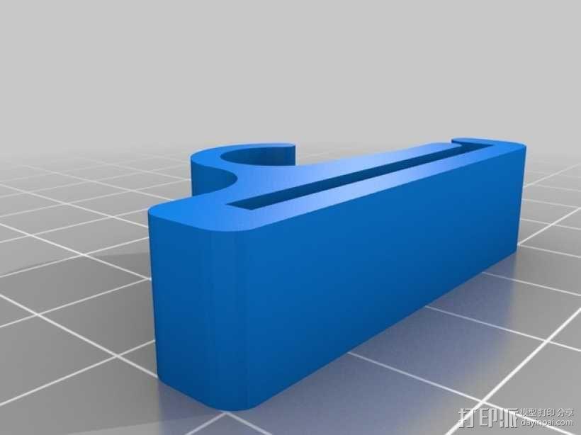 饮水吸管/软管夹 3D模型  图6