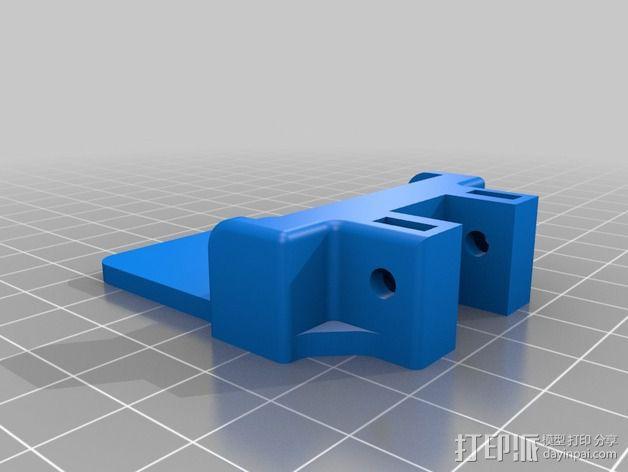 机器人探测器安装支架 3D模型  图5