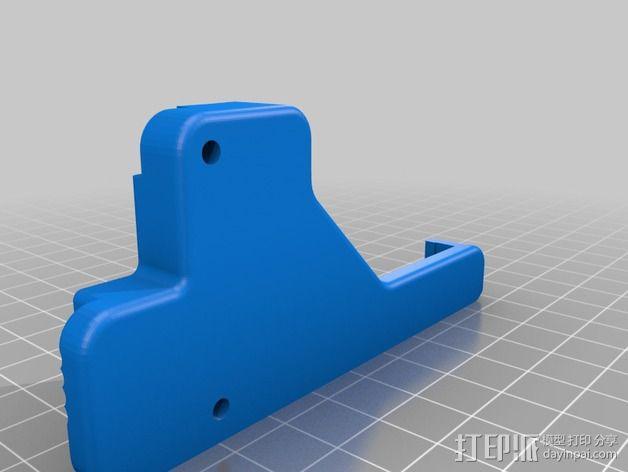 机器人探测器安装支架 3D模型  图6