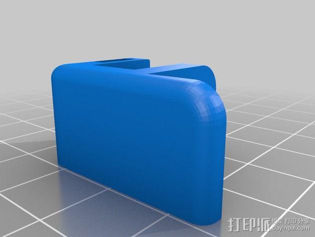机器人探测器安装支架 3D模型  图9