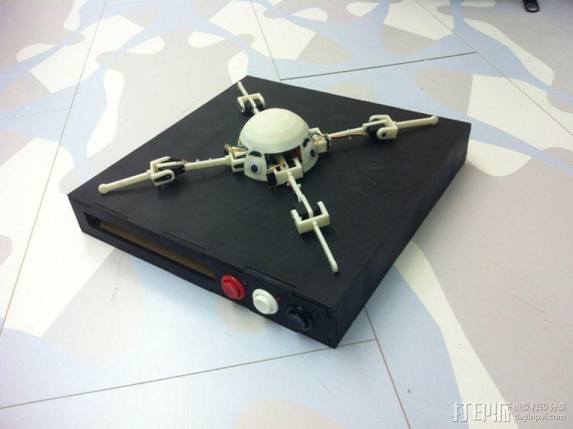 GoonQuad四轴飞行器 3D模型  图1