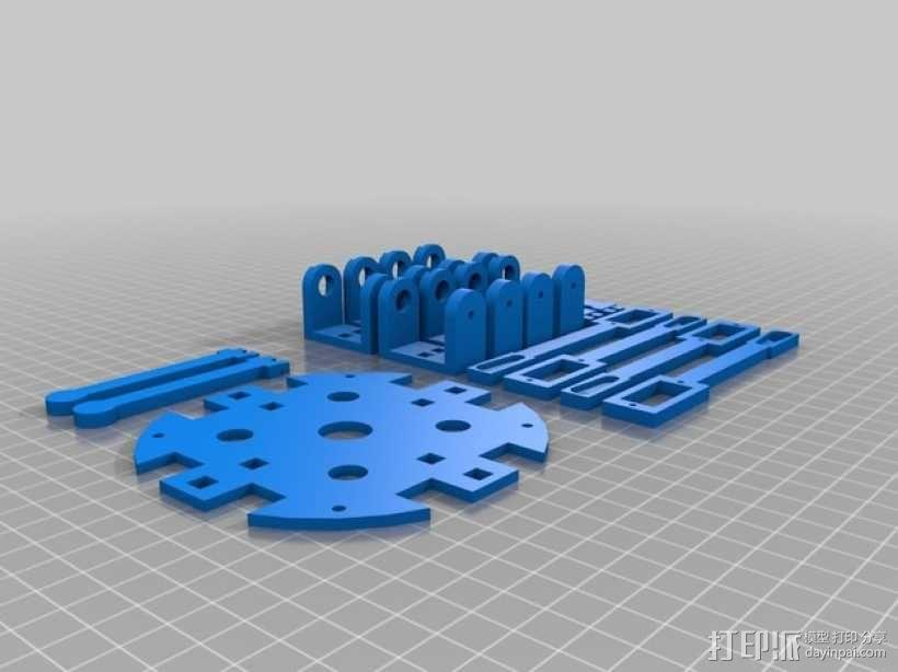 GoonQuad四轴飞行器 3D模型  图6