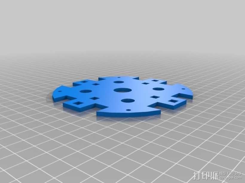 GoonQuad四轴飞行器 3D模型  图5
