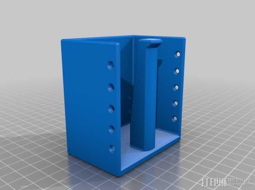 焊料架 3D模型  图3