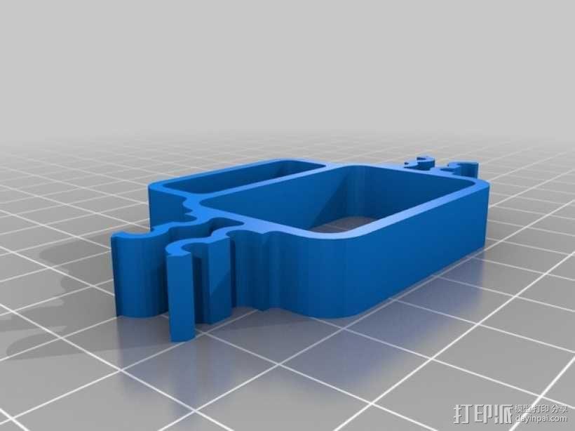 迷你四轴飞行器 3D模型  图4