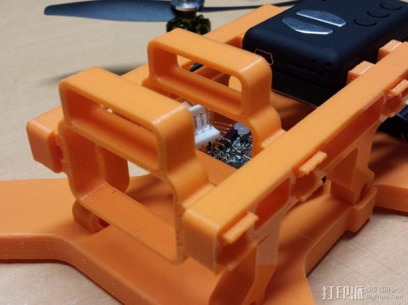 迷你四轴飞行器 3D模型  图10