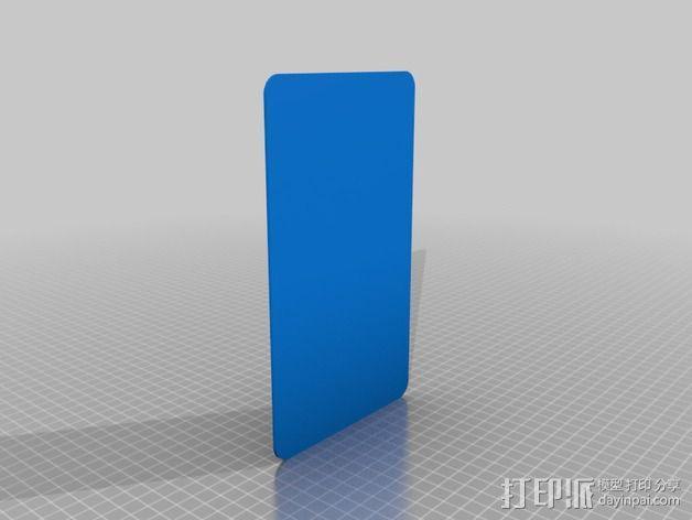 足球裁判卡 3D模型  图3