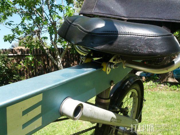 自行车 躺椅夹 3D模型  图3