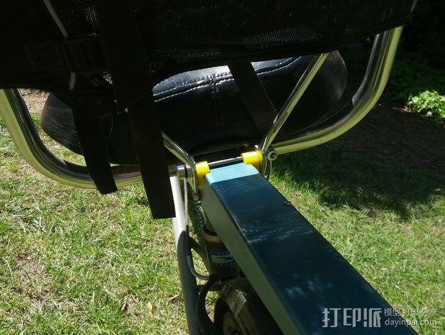 自行车 躺椅夹 3D模型  图5