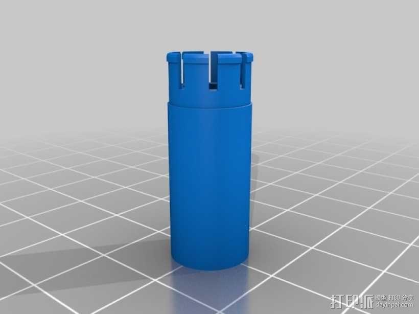 手摇发电机 3D模型  图3