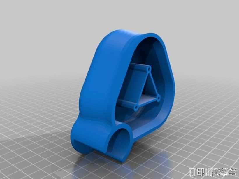 手摇发电机 3D模型  图4