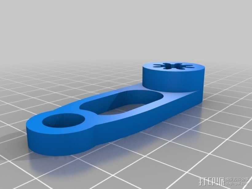 手摇发电机 3D模型  图5