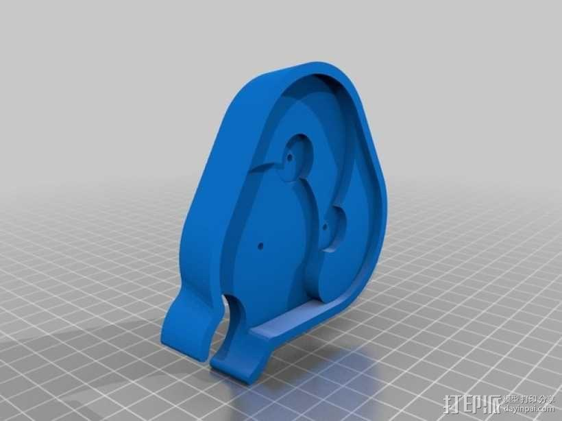 手摇发电机 3D模型  图7